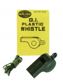 Fluier US Plastic Oliv