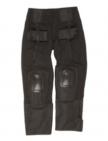 Pantaloni Warrior Negri