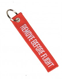 "Breloc ""REMOVE BEFORE FLIGHT"""