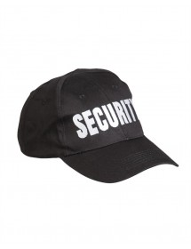 Sapca Baseball Security Neagra