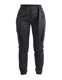 Pantaloni Dama Army Black